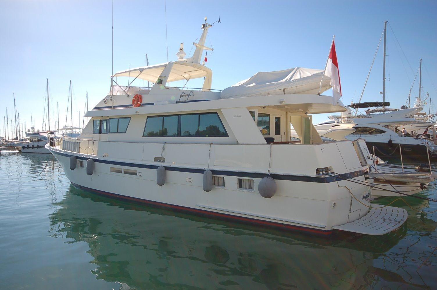 1991 hatteras 70 motor yacht power boat for sale www for Hatteras 70 motor yacht