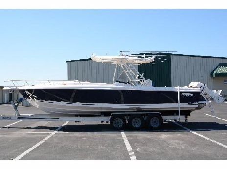 2001 Intrepid 322 Console Cuddy with trailer!