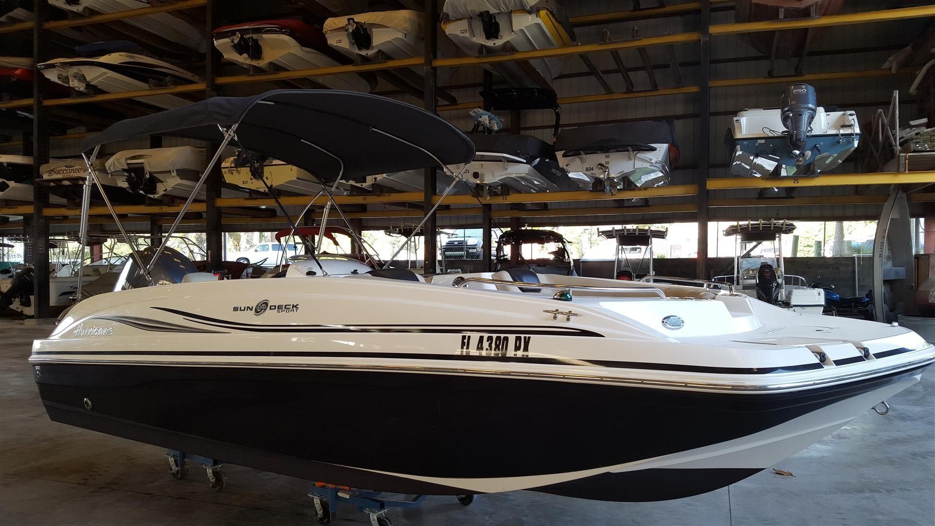2015 hurricane sundeck sport 188 ob power boat for sale for Hurricane sundeck for sale