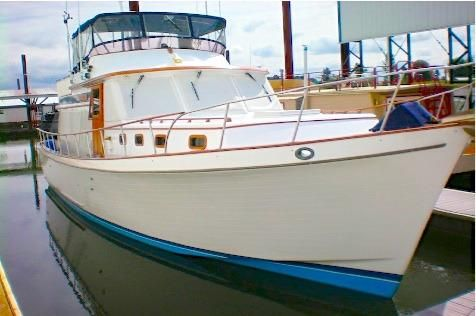 1979 Chb 45 Pilothouse Trawler