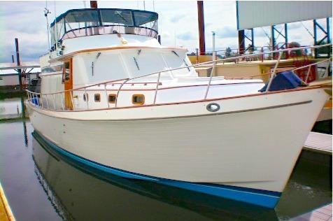 1979 Chb 45 Pilothouse Trawler
