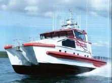 2015 Custom Jet powered multi-mission SAR vessel
