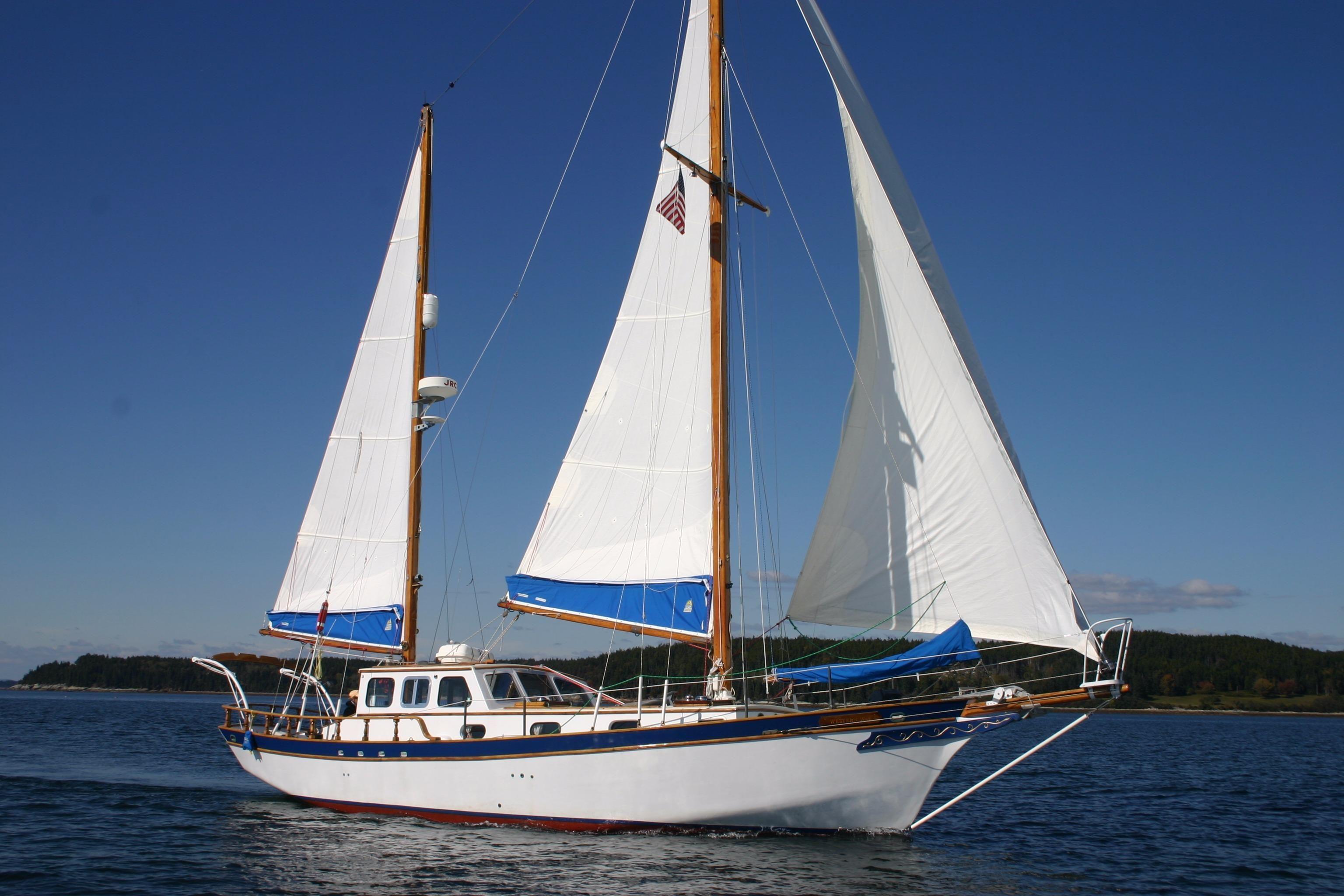 World Cat Boats For Sale >> 1961 Akerman Newporter 40 Ketch Sail Boat For Sale - www ...