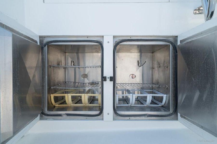Hatteras 65 Convertible Cockpit Refrigerators