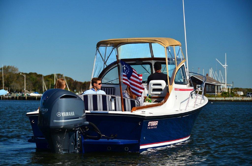 25 ft 2014 steiger craft 255 nantucket