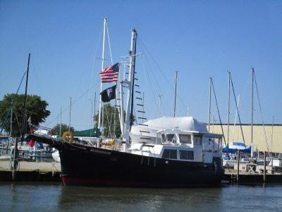 1984 Steady Sail Trawler 43 Custom Steady Sail Trawler