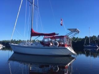 1984 canadian sailcraft cs 36
