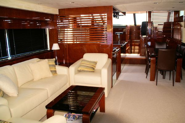 Like all Fairline luxury yachts, the Squadron 68 has.