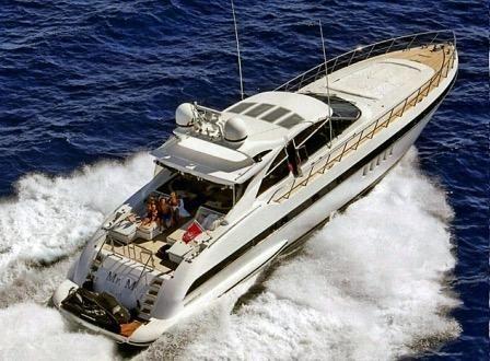 2005 Overmarine Mangusta 80