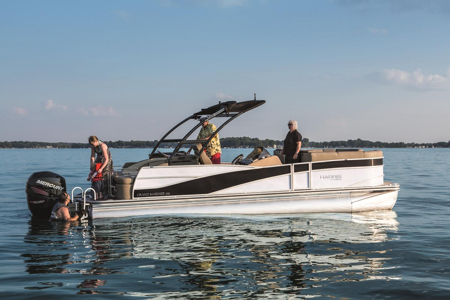 Osage Beach (MO) United States  City pictures : 2015 Harris FloteBote Grand Mariner SL 250 Power Boat For Sale