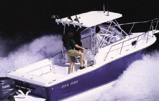 2000 Sea Pro 235 Walk Around