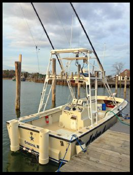 1980 Whitewater 25 (albemarle/seavee) CC, 2012 engine direct drive