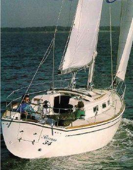 1989 Pearson 34-2 Sloop