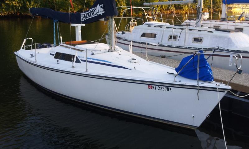1986 Hunter 23 Sail Boat For Sale Www Yachtworld Com
