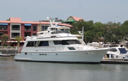 1995 Hatteras 67 CMY One of a Kind