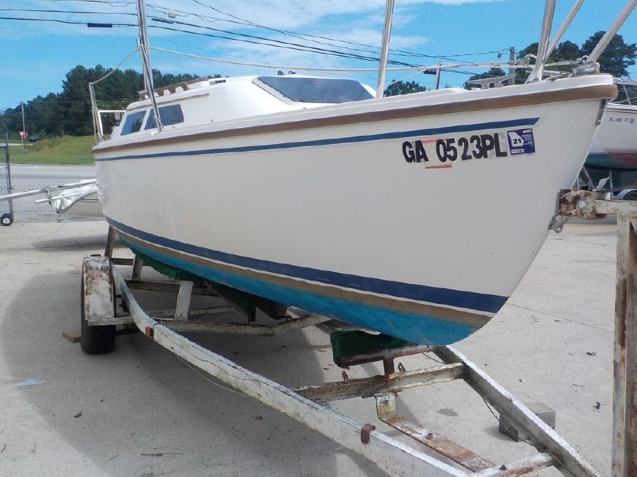 1989 Catalina 22 Sail Boat For Sale - www yachtworld com