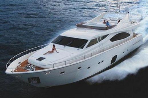 2008 Ferretti Yachts 881