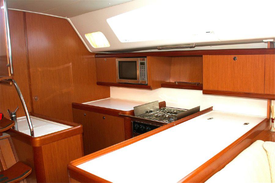 Beneteau 46 Galley Kitchen