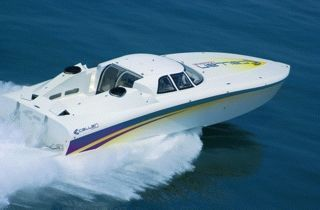 2000 Mystic Powerboats Callan 55