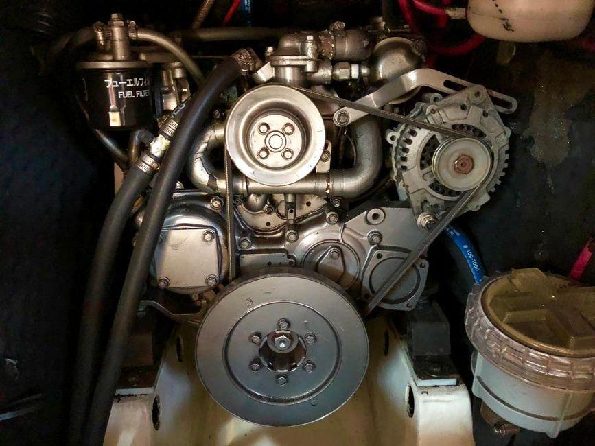 Beneteau 411 Sailboat Diesel Engine