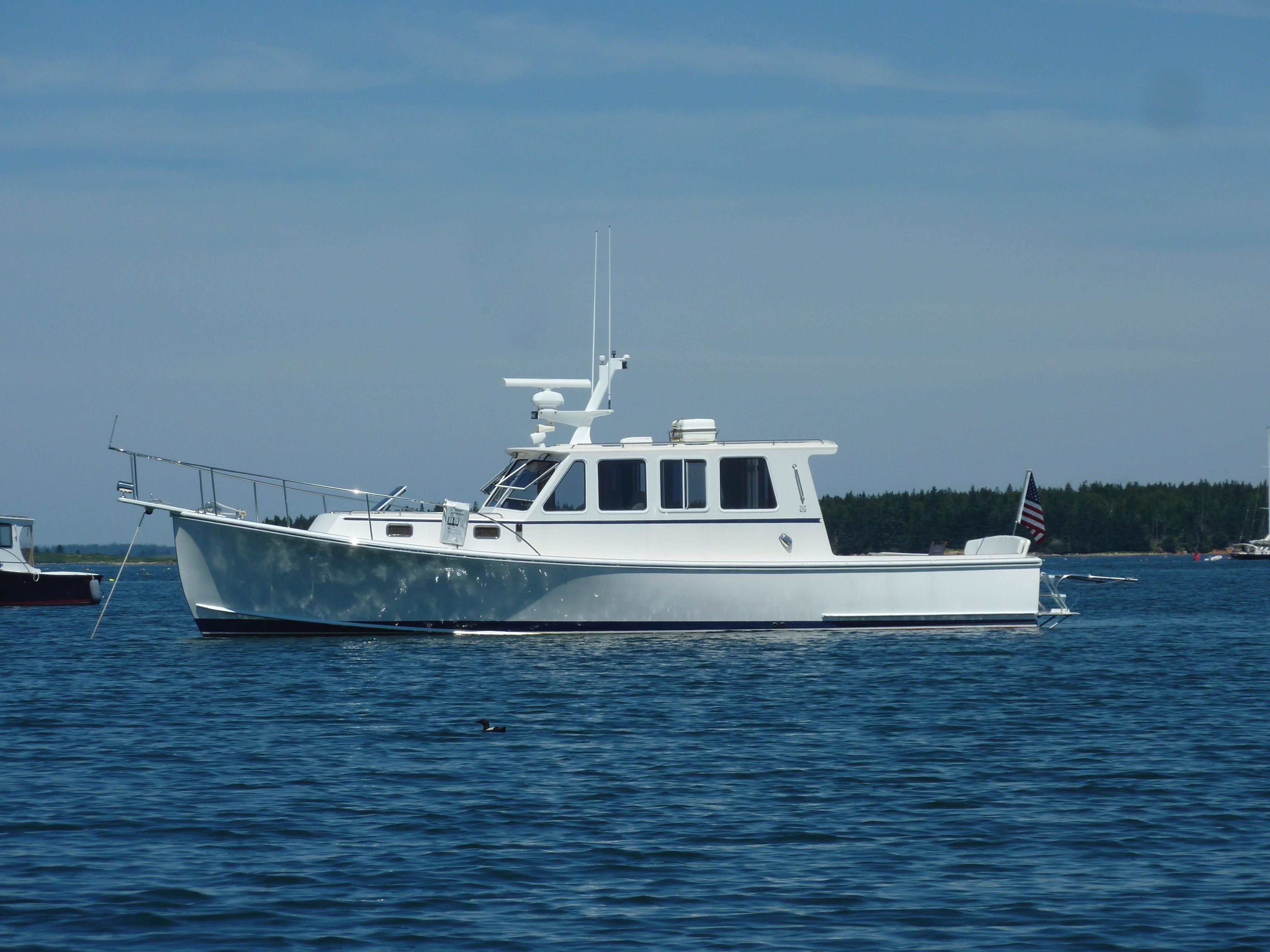 2006 wesmac sedan power boat for sale for Fishing boat dealers near me