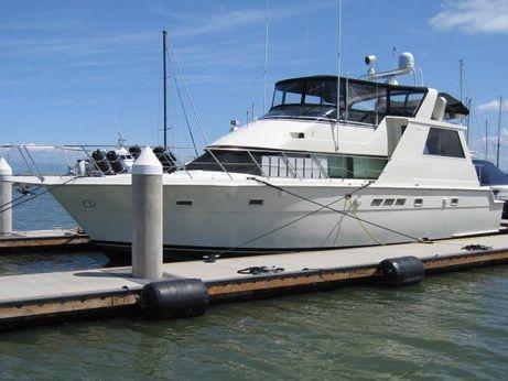 1990 Hatteras Cockpit Motor Yacht