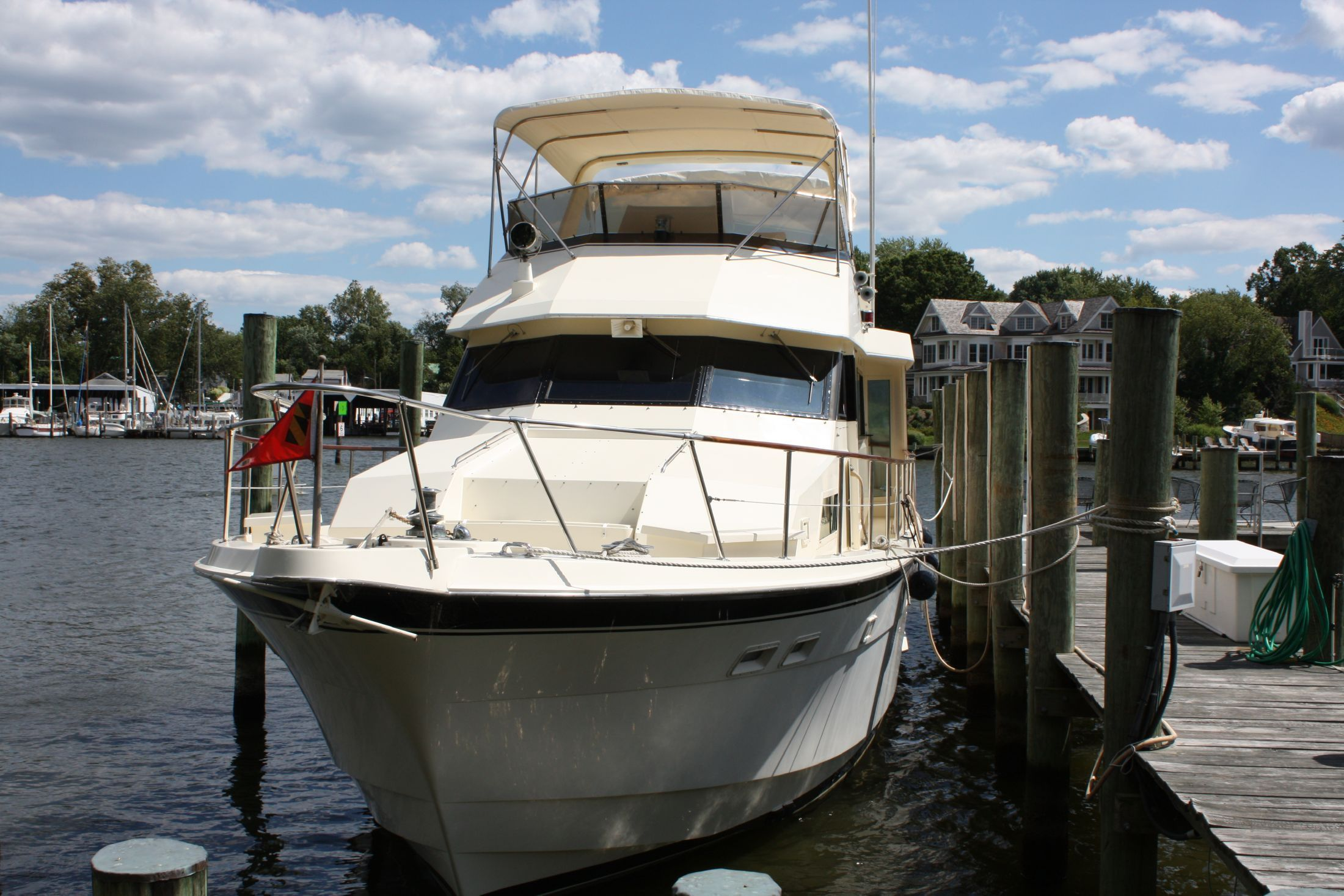 1987 hatteras motoryacht power new and used boats for sale for Klakring motor co annapolis
