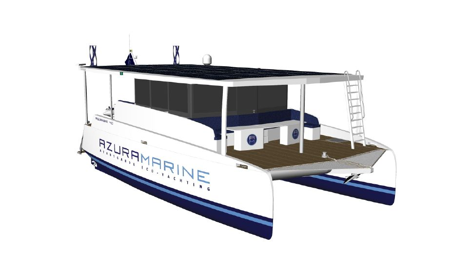 2019 Catamaran Aquanima 40 Solar Explorer Power Catamaran