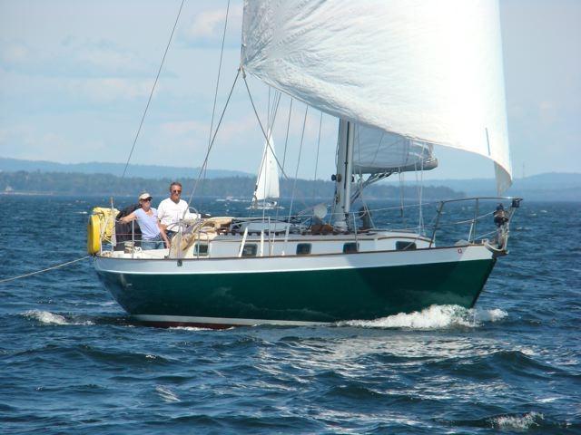 Morris Yachts Justine, Northeast Harbor, ME
