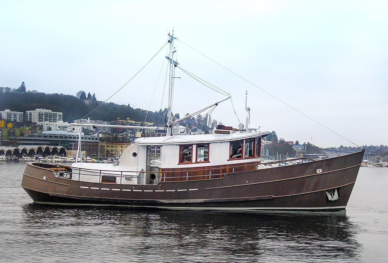 2013 jenkins custom design trawler power new and used for Garden design trawler boat