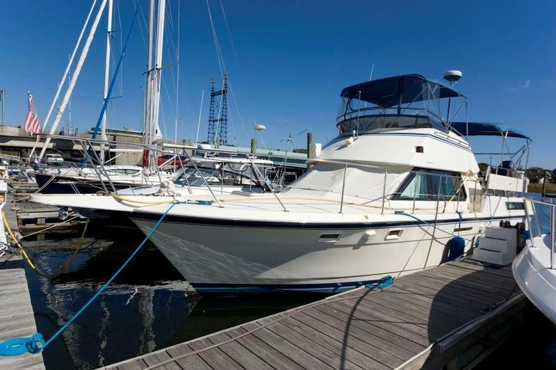 1988 hatteras 40 motor yacht power new and used boats for sale for Hatteras motor yacht for sale