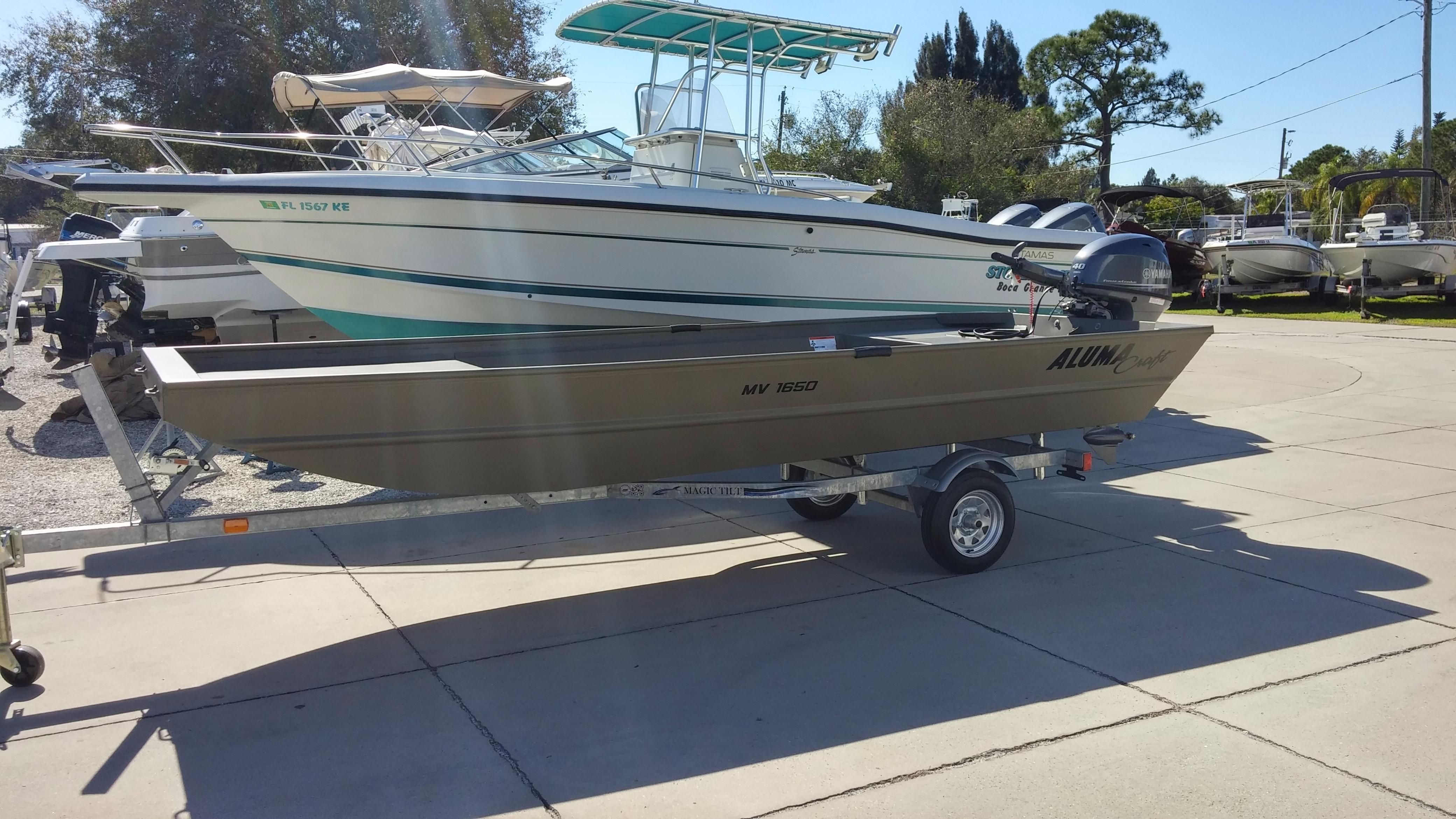 2016 alumacraft 1650 faw package power boat for sale www Aluminum boat and motor packages