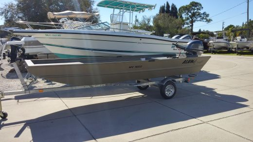 2016 Alumacraft 1650 FAW Package
