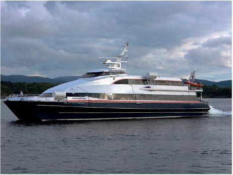 1990 Passenger Ferry Kvarner Fjellstrand KOMMANDOREN