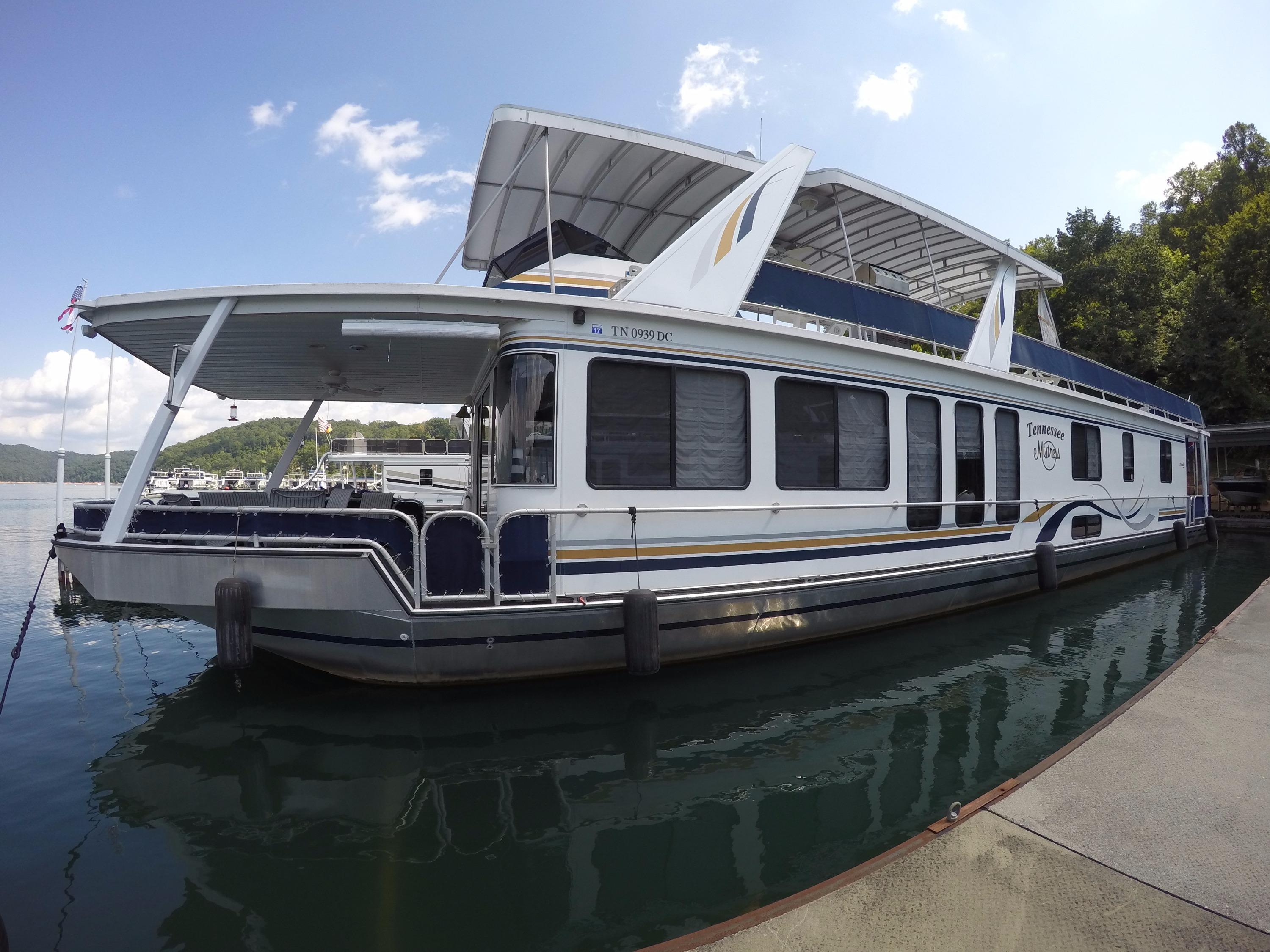 Pontoon houseboat manufacturers home built pontoon boat - 2000 Stardust Cruisers 16 X 77 Widebody Power Boat For Sale