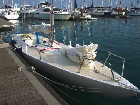 1979 Single Handed Etchells  Racing Yacht