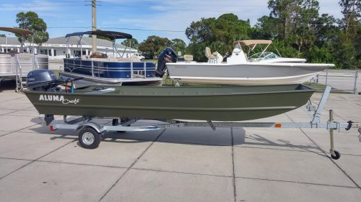 2016 Alumacraft 1648 NCS Package