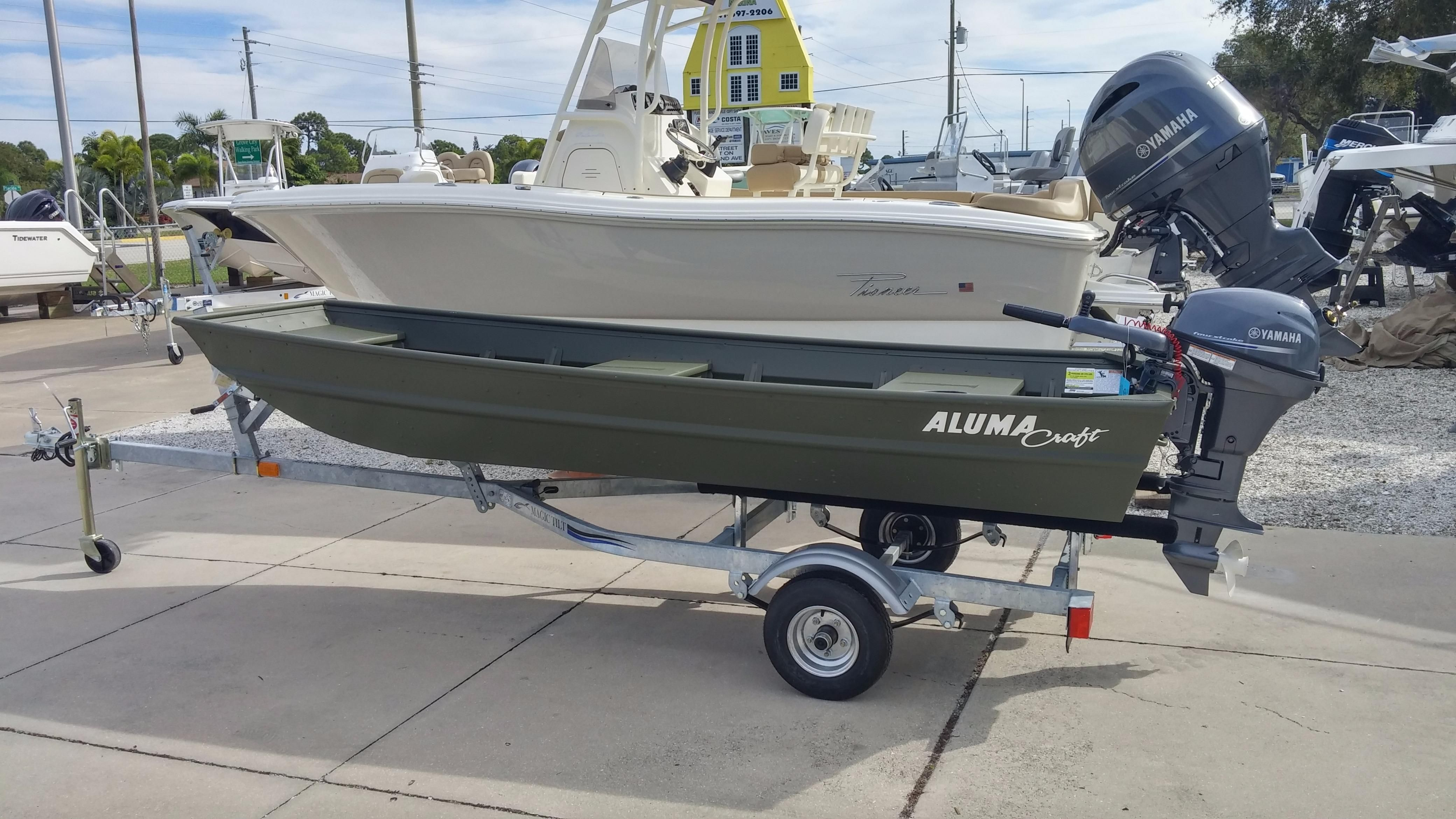2016 alumacraft sierra mv 1236 package power boat for sale Aluminum boat and motor packages