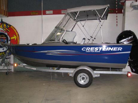 2013 Crestliner 1650 Fish Hawk WT