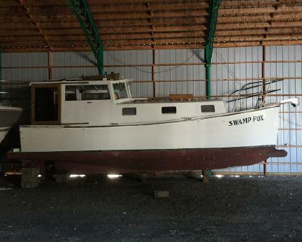 1992 Sea Skiffs Custom 28 Trawler