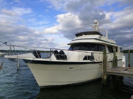 1987 Hatteras Motor Yacht Cockpit