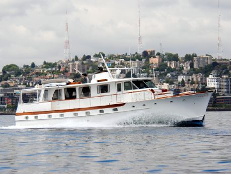 1970 Trumpy Houseboat