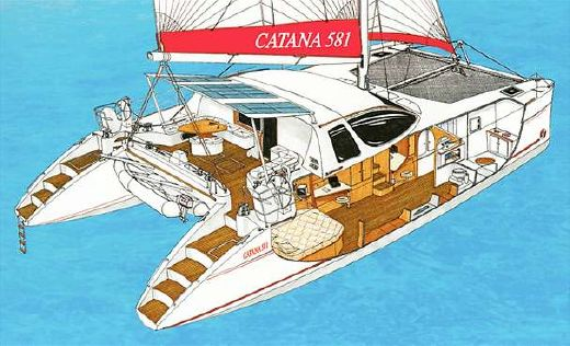 2004 Catana 58