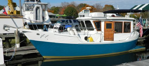 1988 Legend 30 Pilot House Trawler