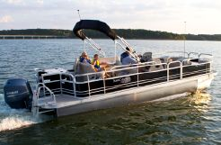 2014 G3 Sun Catcher V322 Fish & Cruise