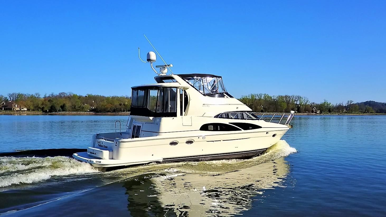 2006 carver 44 cockpit motor yacht power new and used for Clayton motor co west knoxville tn