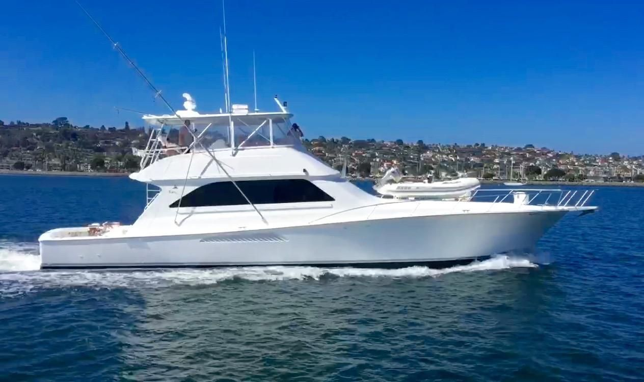 2003 viking convertible power boat for sale www for Fishing boats for sale san diego