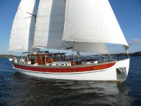 1934 William Hand Pilothouse, twin headsail ketch