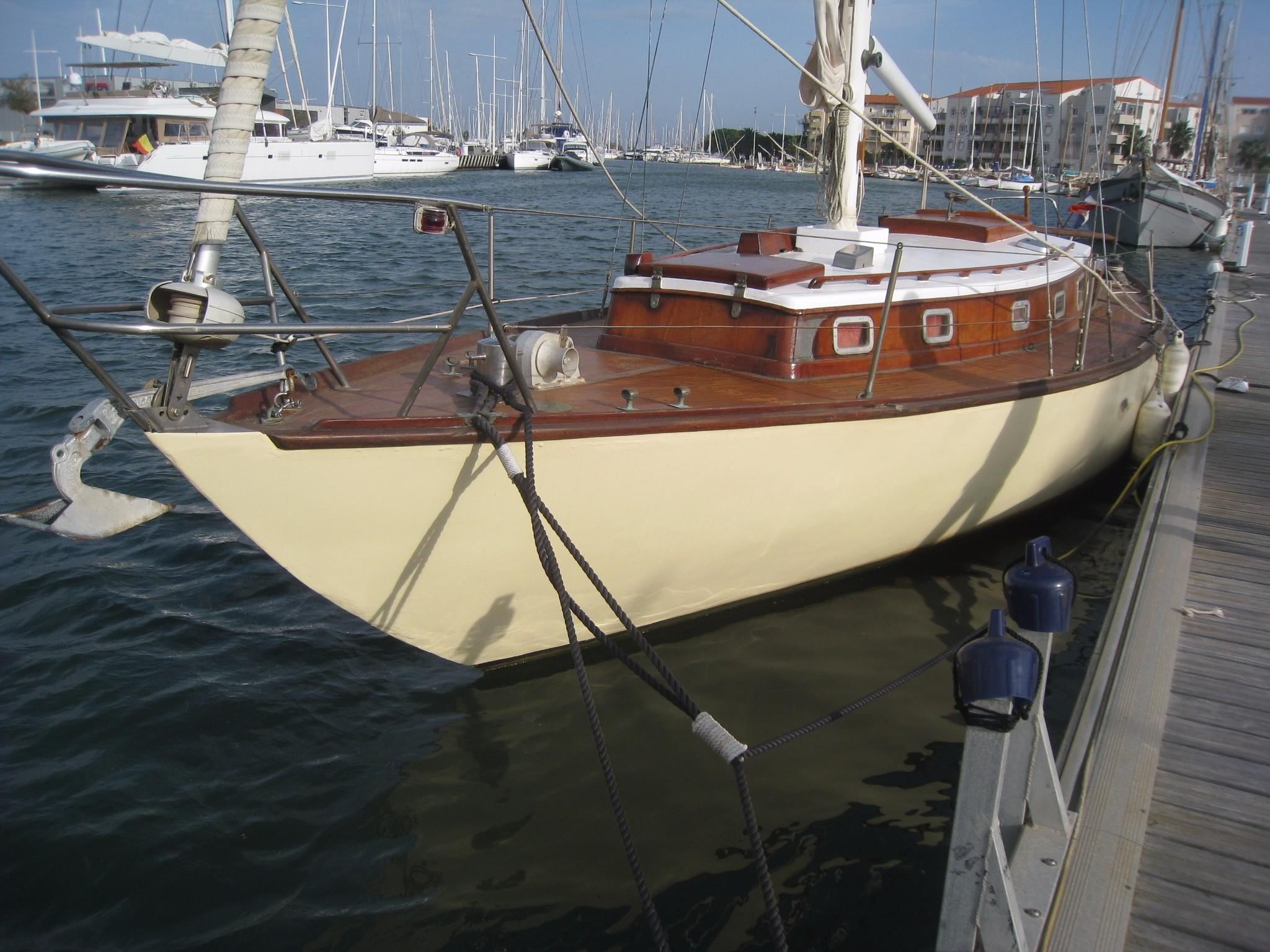 1965 Frans Maas Taillefer Sail Boat For Sale - www ...
