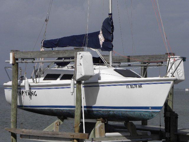 22 ft 2004 catalina mark 2 wing keel